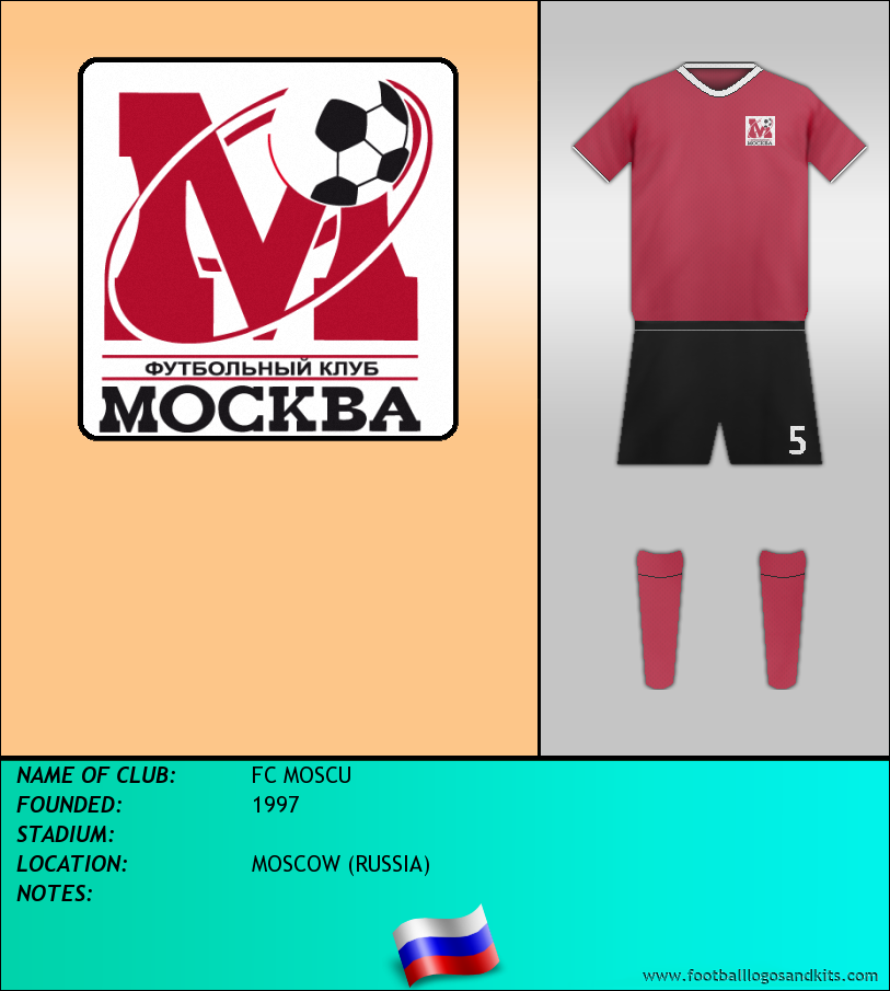Logo of FC MOSCU