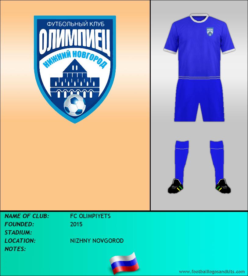 Logo of FC OLIMPIYETS