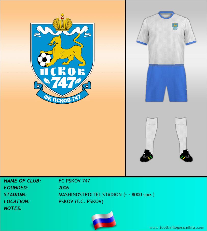 Logo of FC PSKOV-747