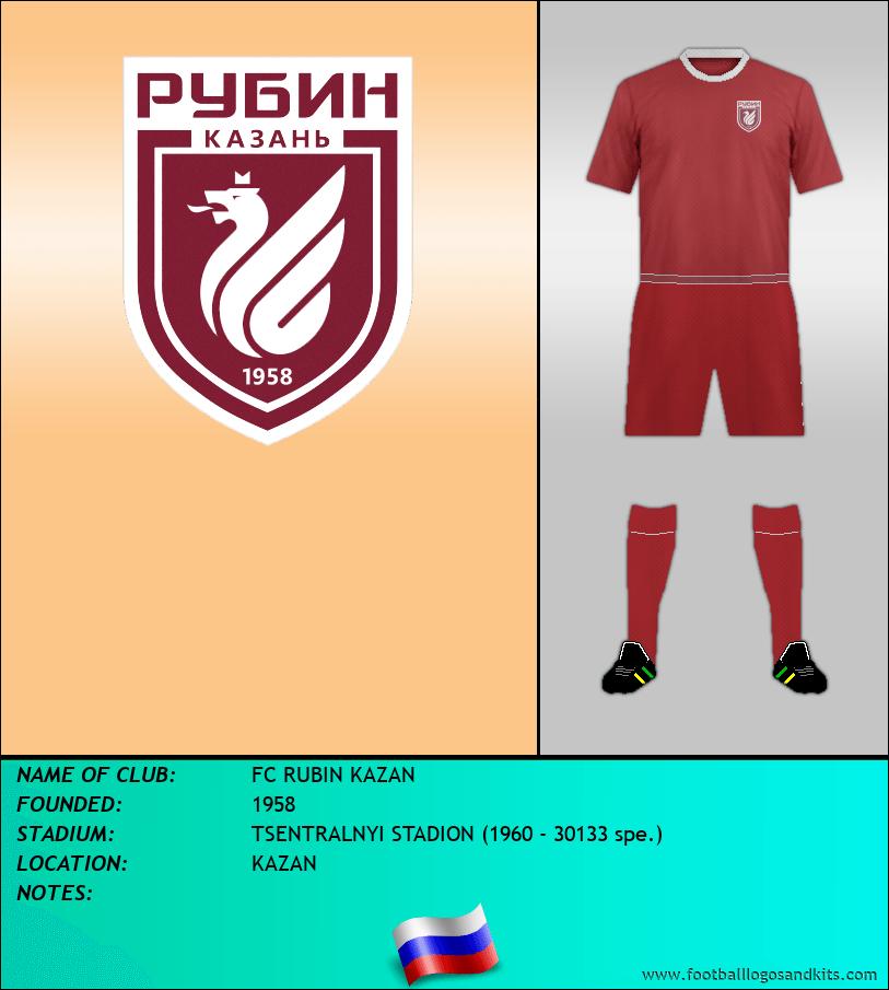Logo of FC RUBIN KAZAN
