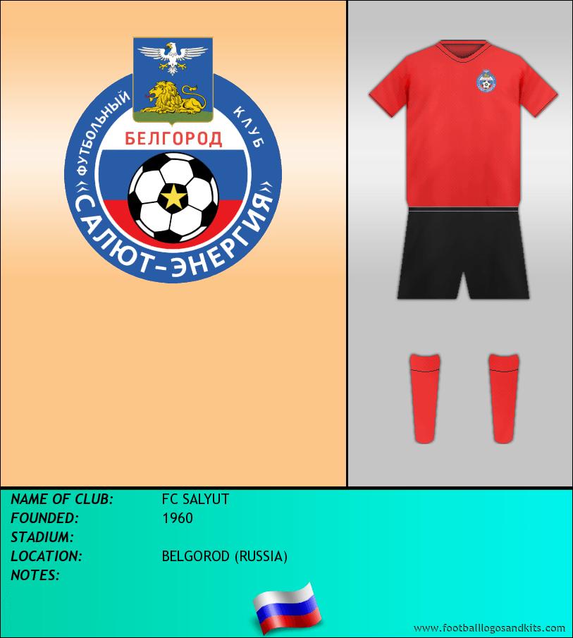 Logo of FC SALYUT