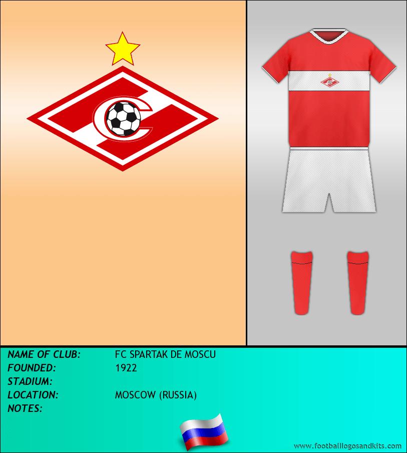 Logo of FC SPARTAK DE MOSCU