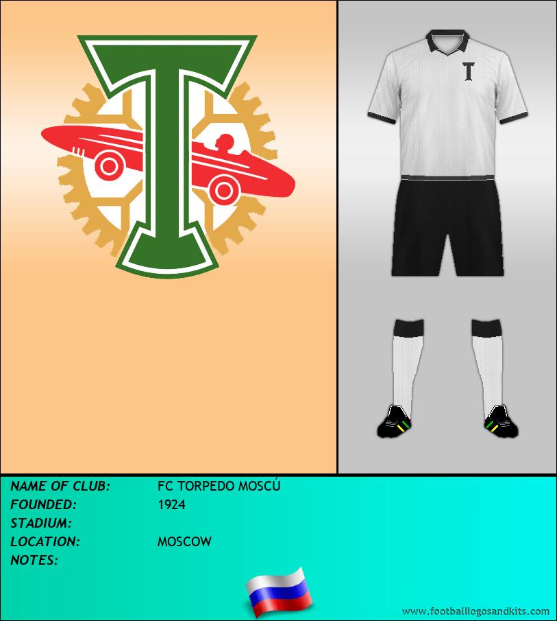 Logo of FC TORPEDO MOSCÚ