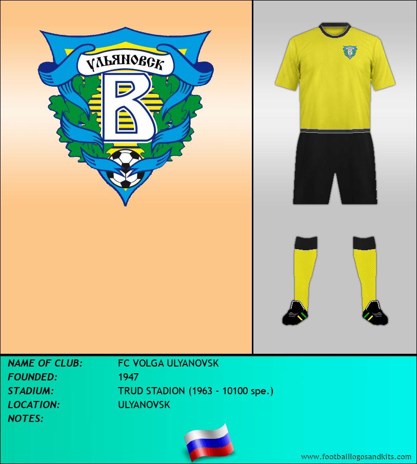 Logo of FC VOLGA ULYANOVSK