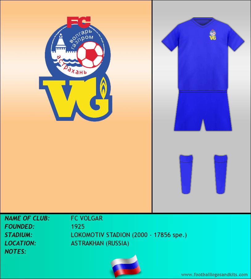 Logo of FC VOLGAR