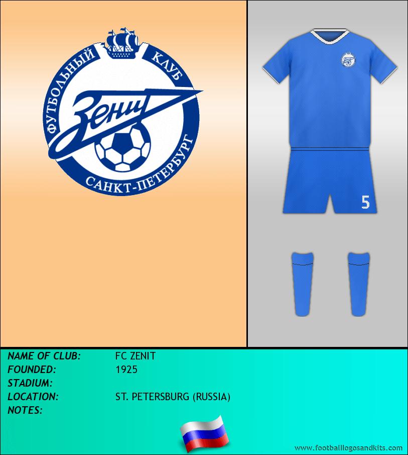 Logo of FC ZENIT