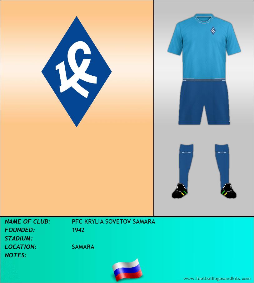 Logo of PFC KRYLIA SOVETOV SAMARA