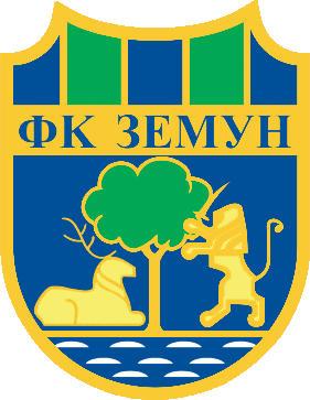 のロゴFK ゼムン (セルビア)
