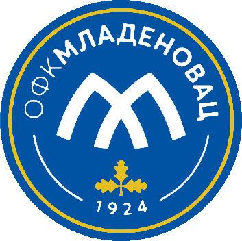 のロゴラグビージャージ MLADENOVAC (セルビア)