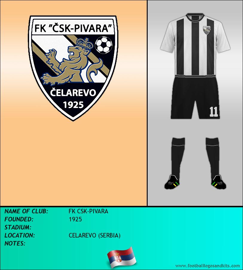 Logo of FK CSK-PIVARA