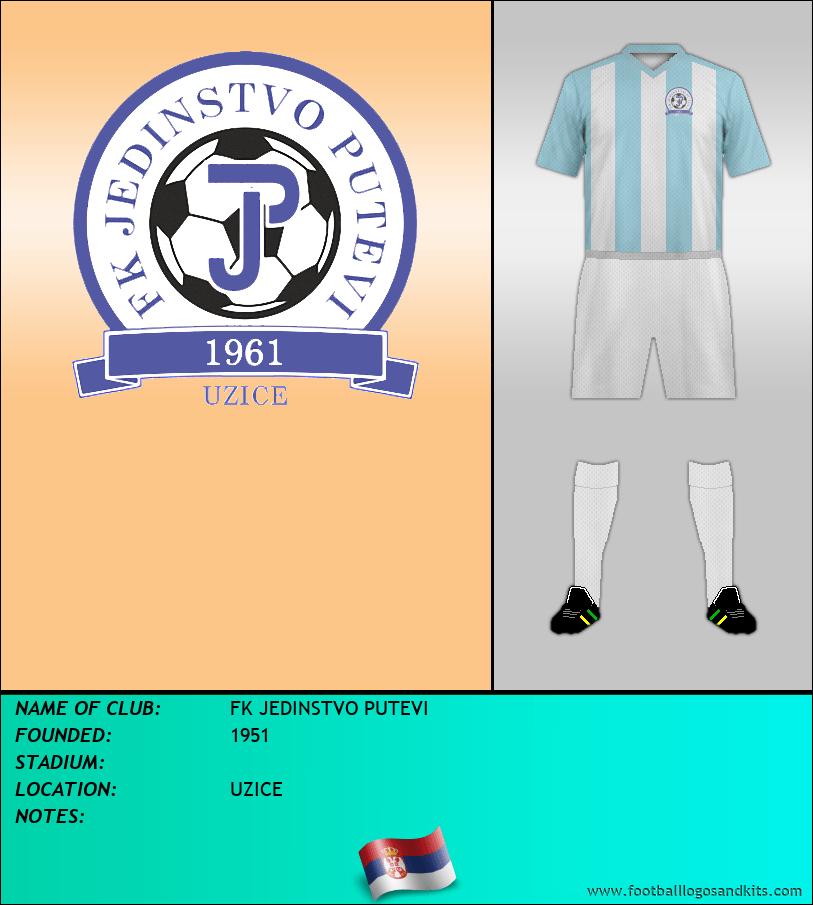 Logo of FK JEDINSTVO PUTEVI