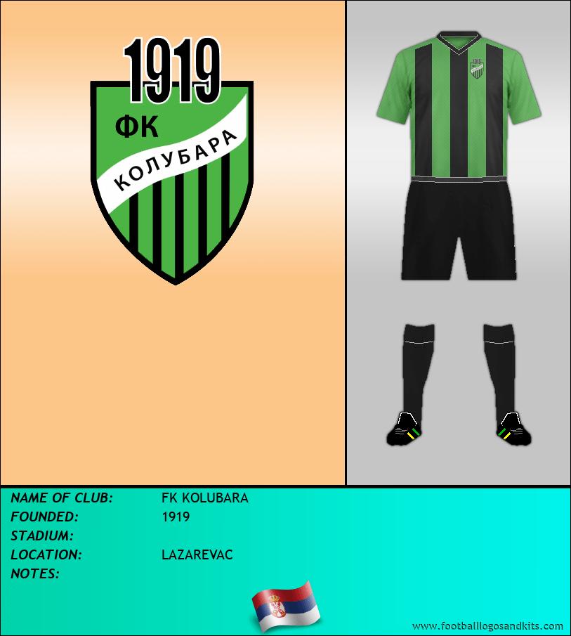 Logo of FK KOLUBARA