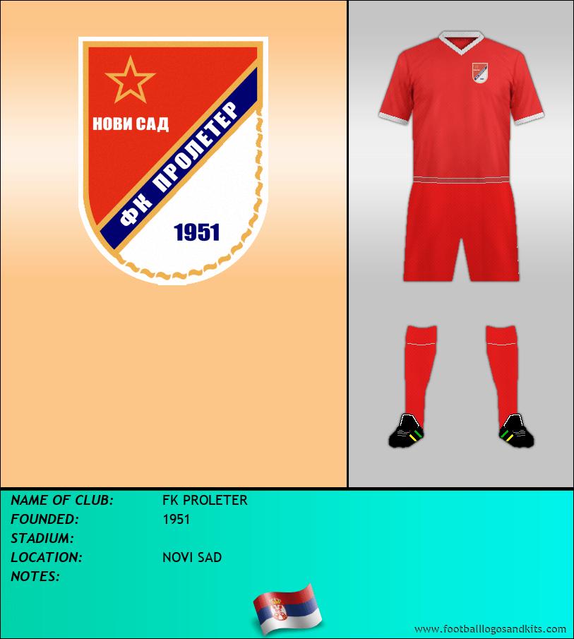 Logo of FK PROLETER