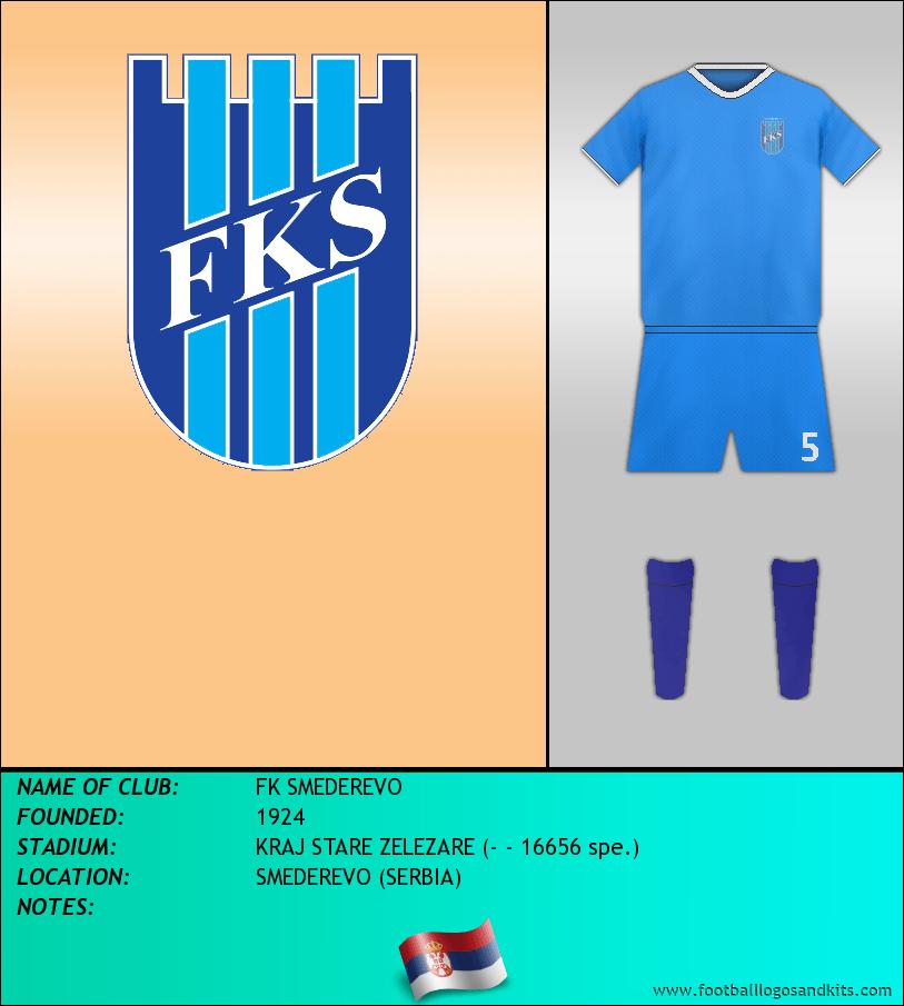 Logo of FK SMEDEREVO