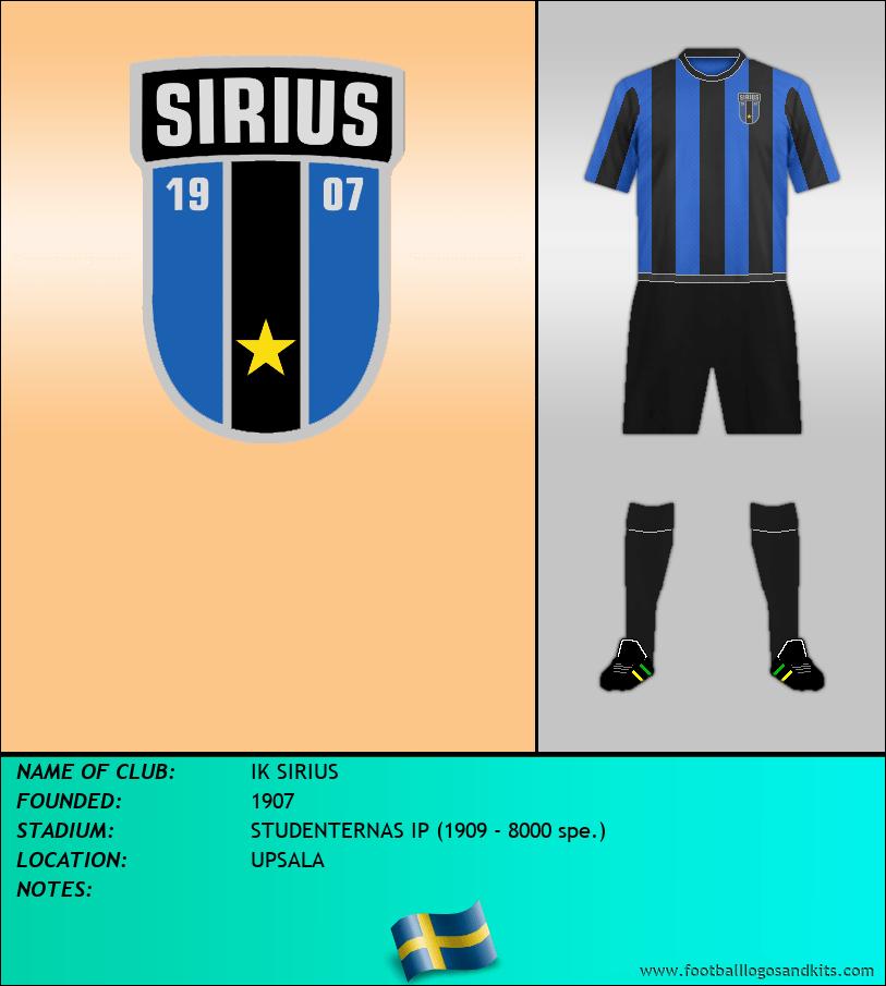 Logo of IK SIRIUS