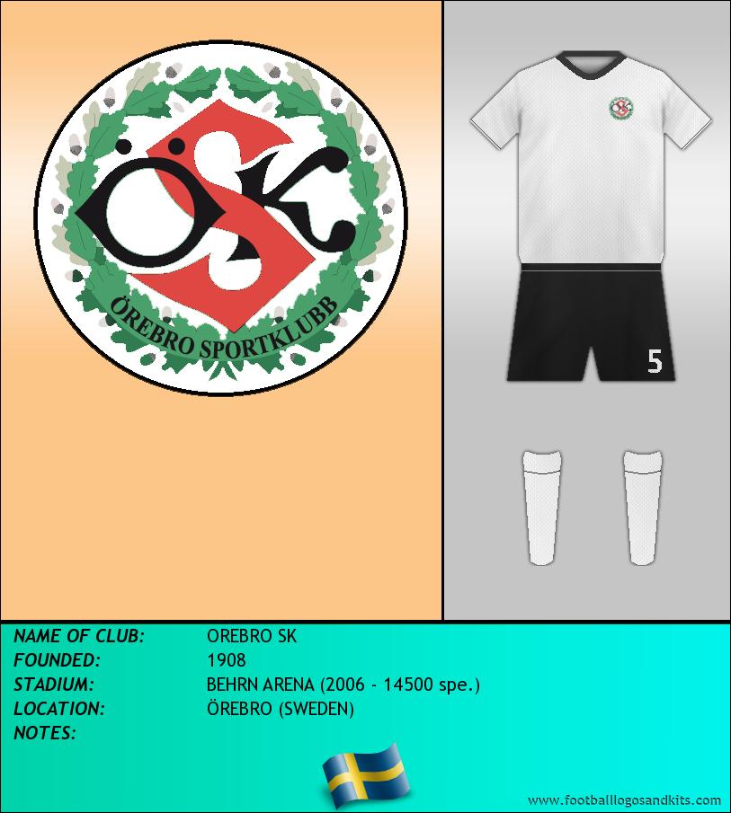 Logo of OREBRO SK