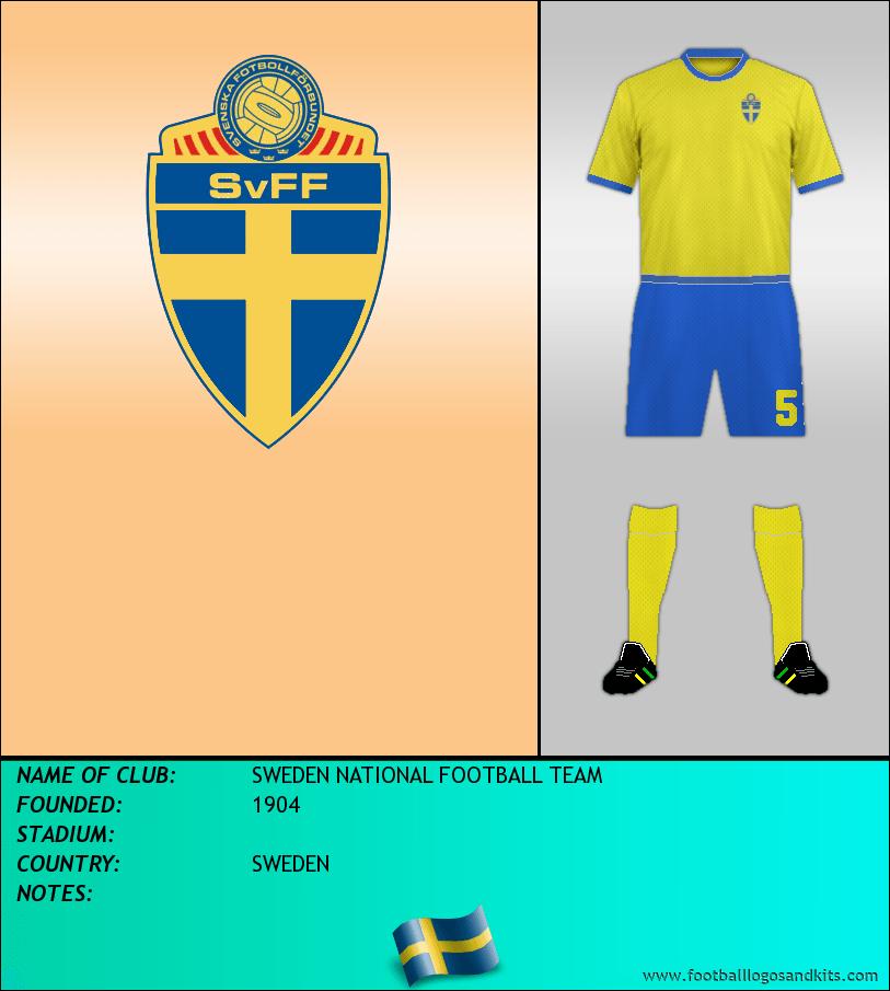 Logo of SWEDEN NATIONAL FOOTBALL TEAM