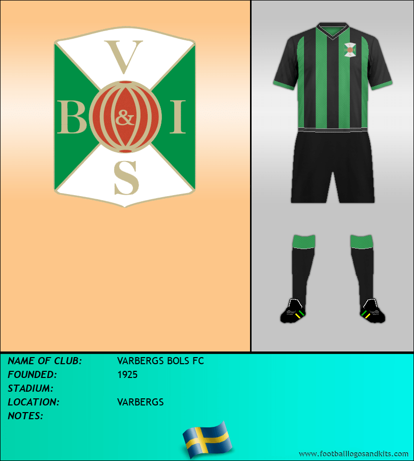 Logo of VARBERGS BOLS FC
