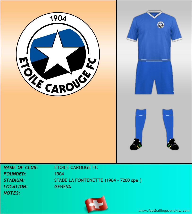 Logo of ÉTOILE CAROUGE FC