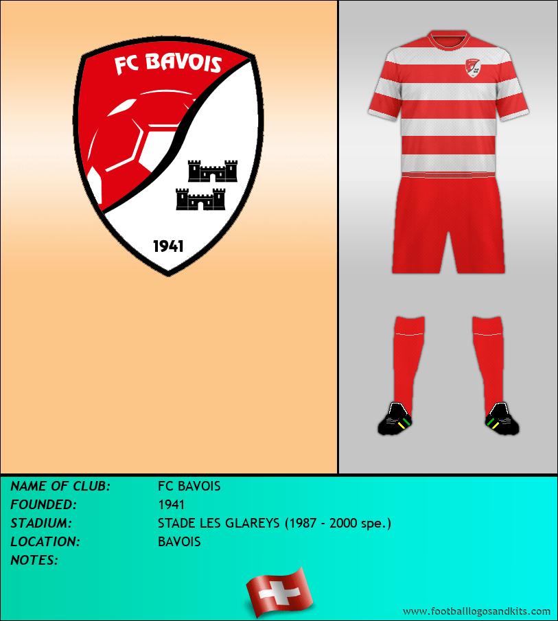 Logo of FC BAVOIS