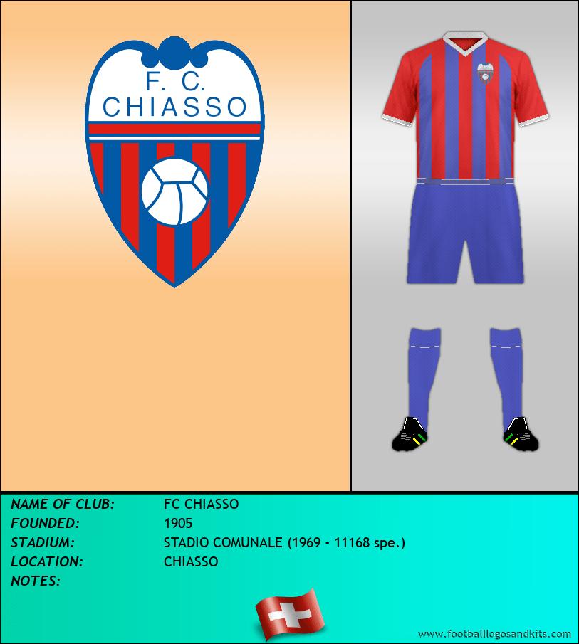 Logo of FC CHIASSO