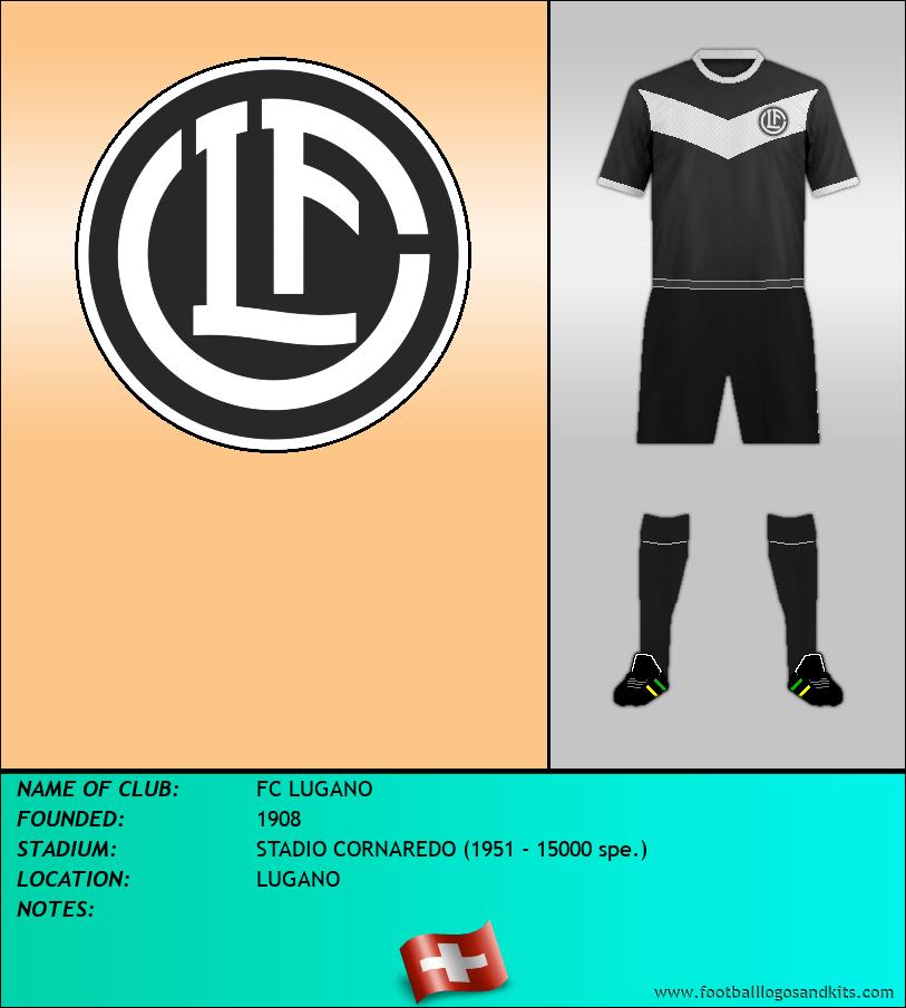 Logo of FC LUGANO
