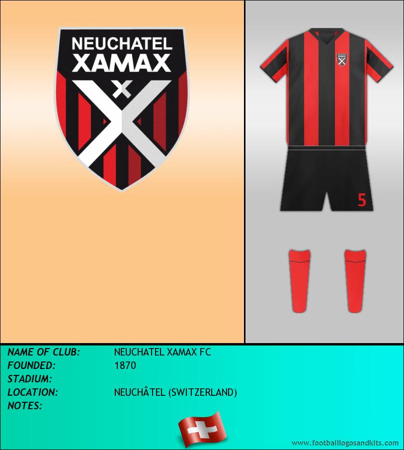 Logo of NEUCHATEL XAMAX FC