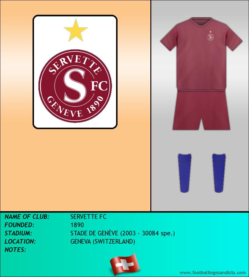 Logo of SERVETTE FC