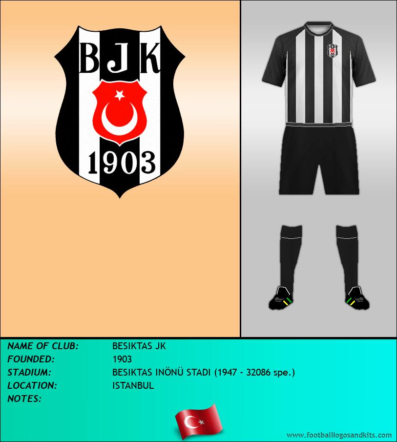 Logo of BESIKTAS JK