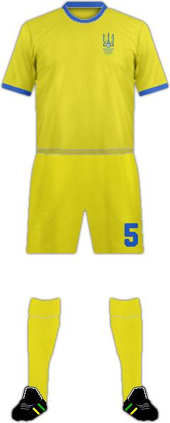 Kit UKRAINE NATIONAL FOOTBALL TEAM