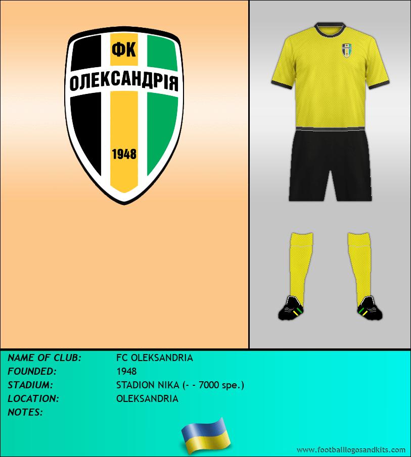 Logo of FC OLEKSANDRIA