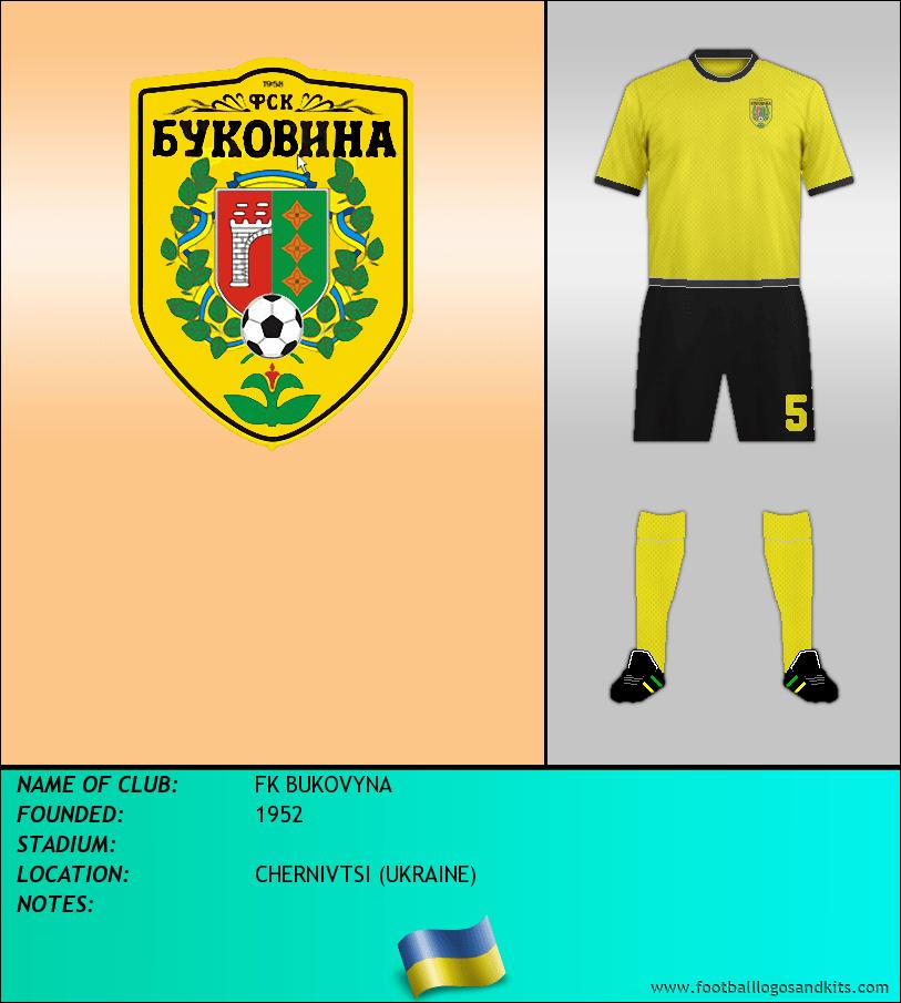Logo of FK BUKOVYNA